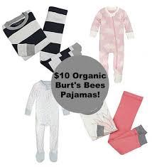 burt s bees organic baby toddler pajamas 10 flash sale today