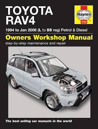 toyota rav4 petrol u0026 diesel 94 jan 06 haynes repair manual