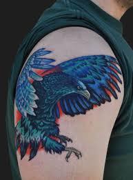 eagle sleeve tattoo art and designs