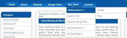 cara membuat menu dropdown keren cara membuat menu dropdown di blog pengguna komputer