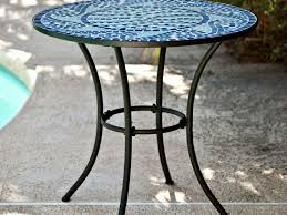 Metal Mesh Patio Furniture - patio 47 metal patio table with amazon com courtyard