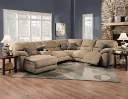Sectionals Sofa Furniture Rivers Collection Featuring Power Reclining