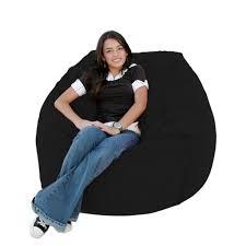 bean bag chair large 3 foot cozy sack premium foam filled liner
