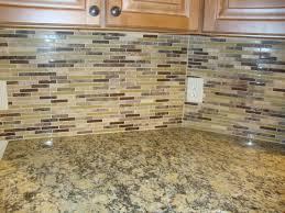 glass u0026 stone mosaic santa cecilia granite kitchen backsplash