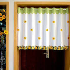 Sunflower Yellow Curtains by Curtain Glass Picture More Detailed Picture About 1 Piece