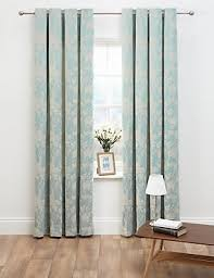Duck Egg Blue Damask Curtains Ready Made Curtains Marks U0026 Spencer London Us