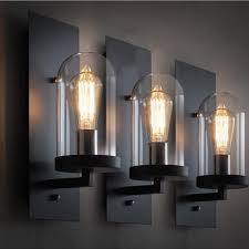 Industrial Wall Sconce Lighting Industrial Wall Sconce For Inspiring Home Lights