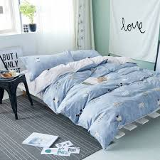 Blue Bed Set Online Get Cheap Blue Comforter Aliexpress Com Alibaba Group