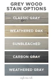 can you stain oak cabinets grey 5 grey wood stain options angela made