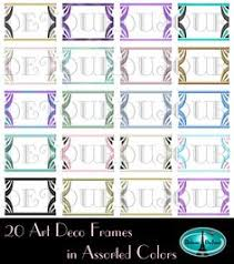 printable art deco borders art deco frames 20 art deco borders art deco clipart art deco web
