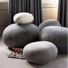 RockResembling Furniture  Comfy Footstools - Rock furniture