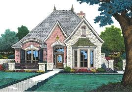 French Cottage House Plans Petite French Cottage 48033fm European Plan Clipgoo