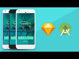 sketch app ui design to android xml tutorial prototyping