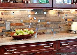 kitchen backsplash ideas for granite countertops kitchen slate backsplash granite countertops kitchen on one wall