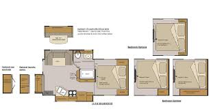 100 r pod camper floor plans r pod the small trailer