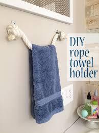 bathroom towel hanging ideas diy towel holder hometalk