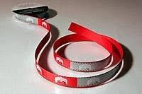 ohio state ribbon ohio state buckeyes grosgrain ribbon 5 8 x 9