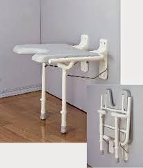 the mountain view new fold up wall mounted shower seat