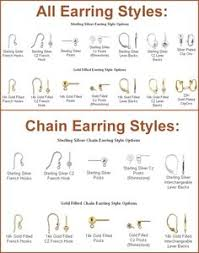 earring back types 52 types of earring styles give a makeover to your earring