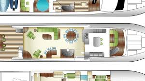 Yacht Floor Plan by Luxury Charter Yacht Tigers Eye Hargrave Power Yacht 2008