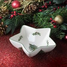spode christmas tree 6 25 inch star dip bowl spode usa