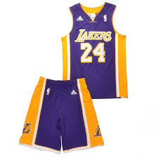 adidas kids la lakers jersey set lilac red bei kickz com