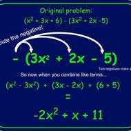 adding and subtracting polynomials tutorial sophia learning