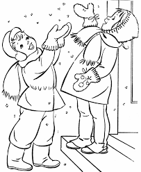 Free Printable Winter Coloring Pages Coloring Home Winter Coloring Pages Free