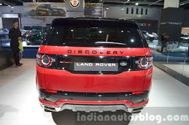 land rover discovery 2016 red land rover discovery sport hse dynamic lux iaa 2015 live