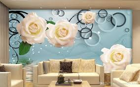 new custom 3d beautiful white rose 3d tv wall mural wallpaper 3d new custom 3d beautiful white rose 3d tv wall mural wallpaper 3d wall papers for tv