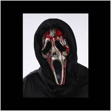 Halloween Costumes Scream Mask Scream Bleeding Zombie Ghost Face Mask Mad Horror