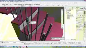 Stair Elements by Archicad 17 Building A Complex Stair Railing Youtube