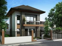 simple two storey house design two story small house design