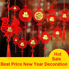 chinese new year home decoration 2017 year of the rooster chinese knot hang decorations chinese new
