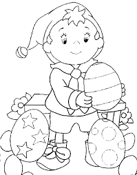 coloring noddy eggs picture cbeebies