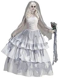 ghost wedding dress forum novelties women s deluxe ghost
