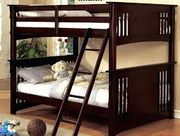 full size bunk beds slope twin over full size bunk bed natural by