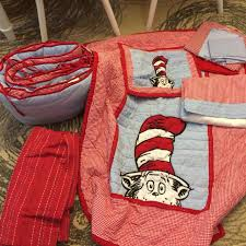 Dr Seuss Crib Bedding Sets Find More Pottery Barn Dr Seuss Crib Bedding Set Euc For Sale At