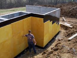 Exterior Basement Wall Insulation by Waterproofing Exterior Basement Walls Basements Ideas