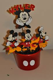 mickey mouse centerpieces occ obsessive compulsive crafting mickey mouse centerpieces