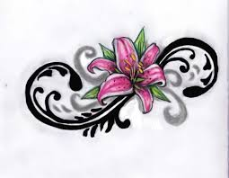 large flower tattoo designs best 25 stargazer lily tattoos ideas only on pinterest