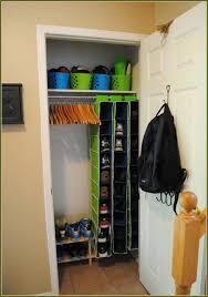 small coat closet storage ideas