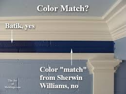 how to match paint color sherwin williams custom color match the joy of moldings com