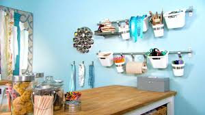 Sewing Room Wall Decor Splendid Organizer Wall Craft Storage Design Inspiration
