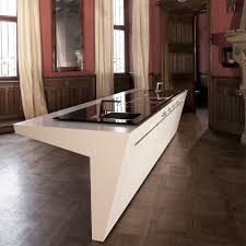 contemporary kitchen wooden island lacquered paxmann hi
