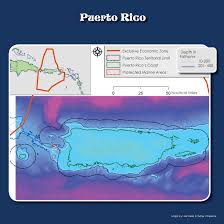 Puerto Rico Map Us by Cfmc Us Caribbean Eez