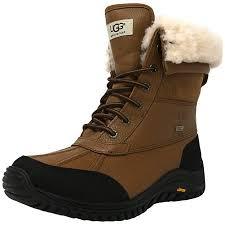 ugg australia womens black grey adirondack boots product