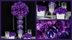 purple wedding centerpieces purple centerpiece diy wedding centerpiece how to