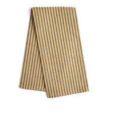 navy and stripe ticking dish towel kitchen towels