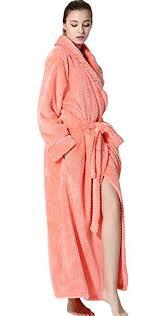 robe de chambre pour spa peignoir polaire femme homme unisexe pyjama kimono robe